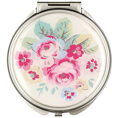 Buy Cath Kidston Trailing Flower Compact Mirror, Cream Online at johnlewis.com
