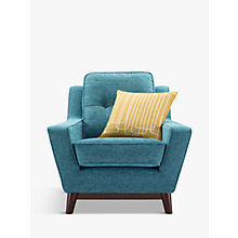 Buy G Plan Vintage The Fifty Three Armchair, Fleck Blue Online at johnlewis.com