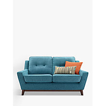 Buy G Plan Vintage The Fifty Three Small Sofa, Fleck Blue Online at johnlewis.com