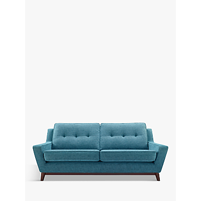 G Plan Vintage The Fifty Three Small Sofa, Fleck Blue