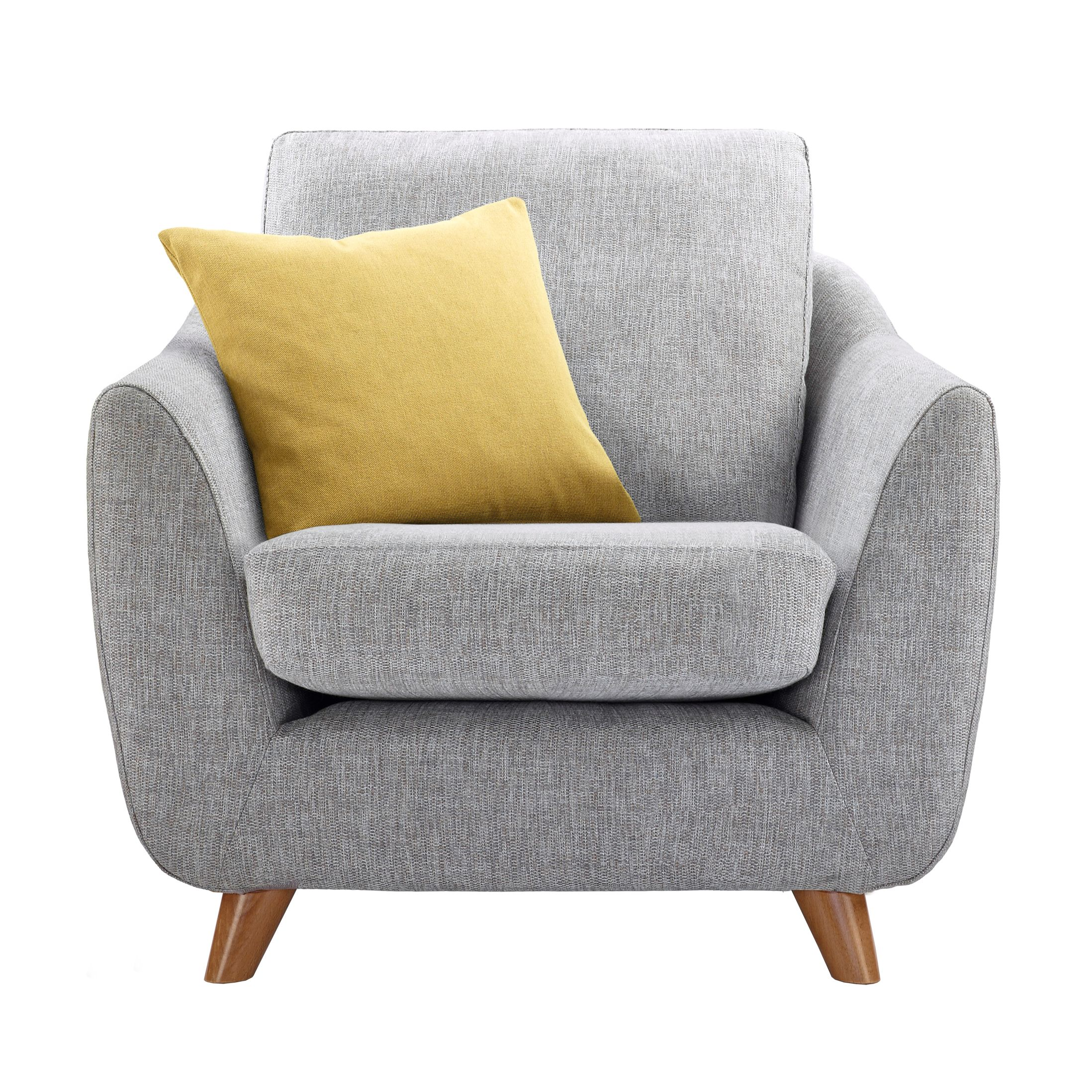 G Plan Vintage The Sixty Seven Armchair, Marl Grey