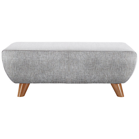 Buy G Plan Vintage The Sixty Seven Footstool, Marl grey Online at johnlewis.com