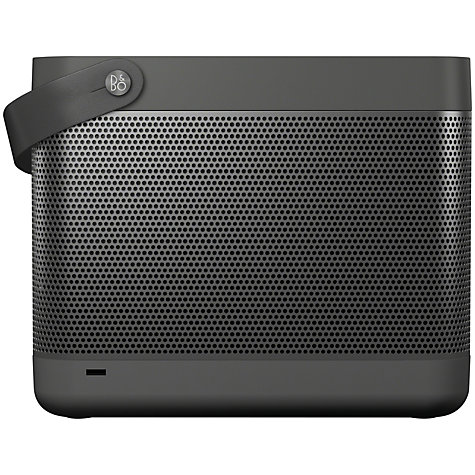 Buy Bang & Olufsen Beolit 12 Speaker with Apple AirPlay, Dark Grey Online at johnlewis.com