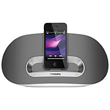 Buy Philips DS3600 Wireless iPod Dock, White Online at johnlewis.com