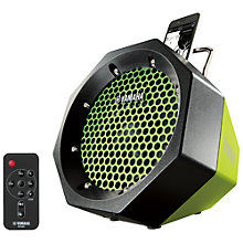 Buy Yamaha PDX-11 iPod Dock, Green Online at johnlewis.com