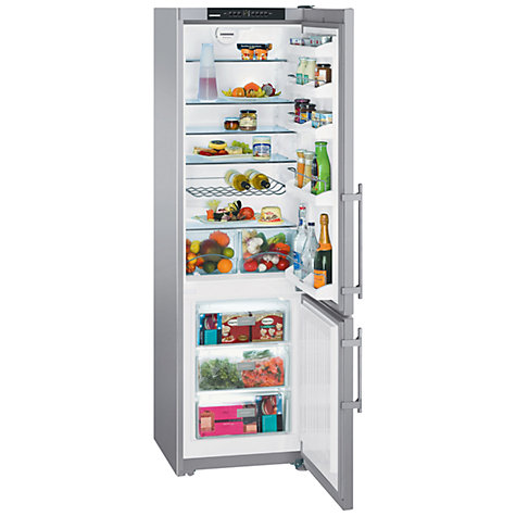 Buy Liebherr CPESF4023 Fridge Freezer, Stainless Steel Online at johnlewis.com