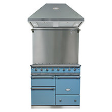 Buy Lacanche Macon LG1053GEBPRCHAPK1 Dual Fuel Cooker, Hood and Splashback, Prussian Blue / Chrome Trim Online at johnlewis.com