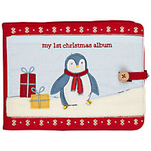 Buy John Lewis My 1st Christmas Photo Album, Red Online at johnlewis.com