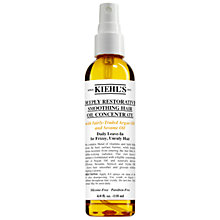 Buy Kiehl's Deeply Restorative Smoothing Hair Oil Concentrate, 118ml Online at johnlewis.com