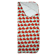 Buy Anorak Kissing Rabbits Sleeping Bag, Orange Online at johnlewis.com