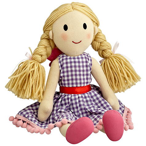 Buy little home at John Lewis Molly The Dolly Fairy Tea Party Doll, Pink Online at johnlewis.com