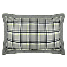 Buy Ted Baker Check This Out Standard Pillowcases, Pair, Grey Online at johnlewis.com