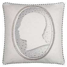 Buy Ted Baker Not In His Manor Cushion, Grey Online at johnlewis.com