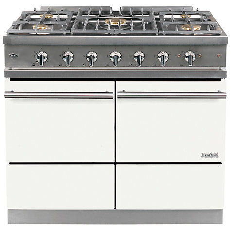 Buy Westahl Cluny WG1053GE Dual Fuel Range Cooker, White Online at johnlewis.com