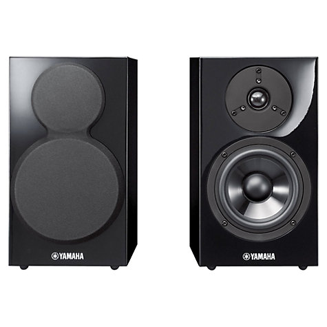 Buy Yamaha PianoCraft NS-BP300 Bookshelf Speakers, Black Online at johnlewis.com