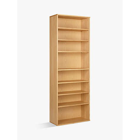 Buy John Lewis Abacus 7 Shelf Bookcase Online at johnlewis.com