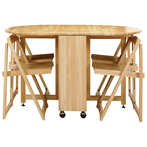 Buy John Lewis Butterfly Folding Dining Table And Four
