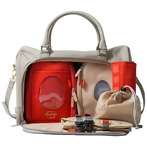 Buy PacaPod Firenze Changing Bag, Putty Online at johnlewis.com