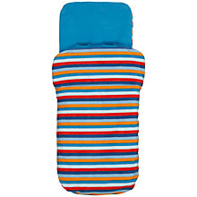 Buy John Lewis Baby Stripe Footmuff, Blue Online at johnlewis.com
