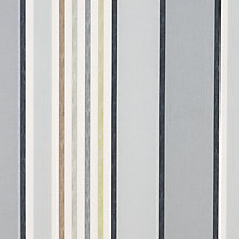 Buy John Lewis Etna Stripe Fabric, Onyx Online at johnlewis.com