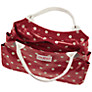 Buy Cath Kidston Spot Day Handbag, Berry Online at johnlewis.com