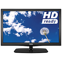 "Buy Haier LEY22T1000F LED HD 720p TV/DVD Combi, 22"" with Freeview Online at johnlewis.com"