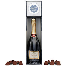 Buy Villa Jolanda Prosecco and Truffles Gift Set, 75cl Online at johnlewis.com