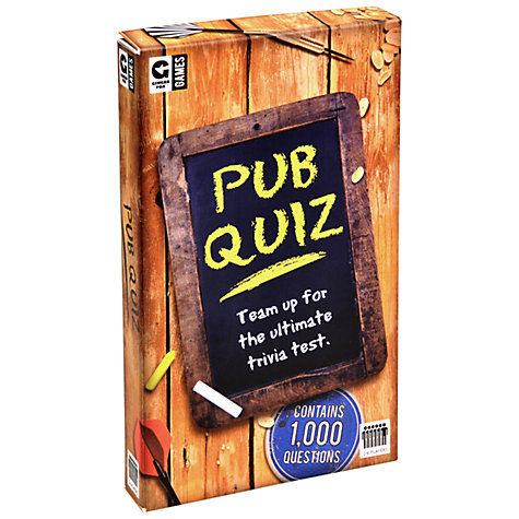 Buy Ginger Fox Pub Quiz Game Online at johnlewis.com
