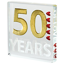 Buy Spaceform 50 Years Anniversary Token, Mini Online at johnlewis.com