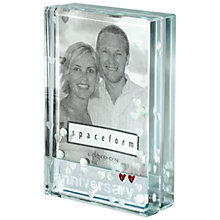 Buy Spaceform Dinky Anniversary Photo Frame Online at johnlewis.com