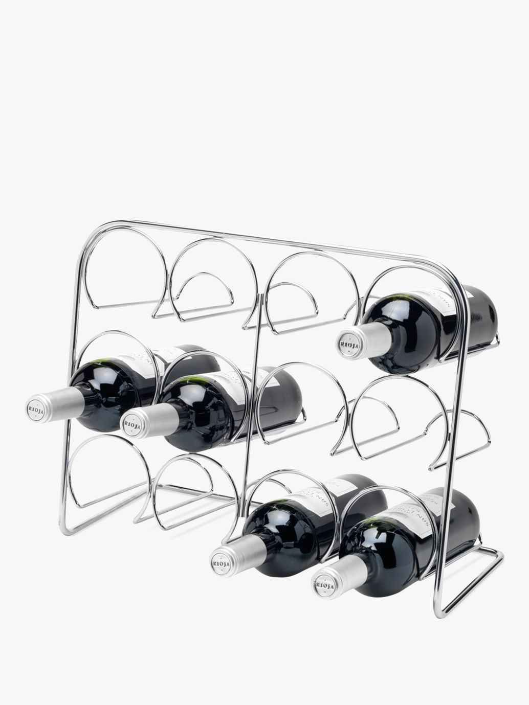 Hahn Hahn Pisa 12 Bottle Wine Rack