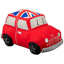 Buy Dora Designs Vintage Car Doorstop, Red Online at johnlewis.com