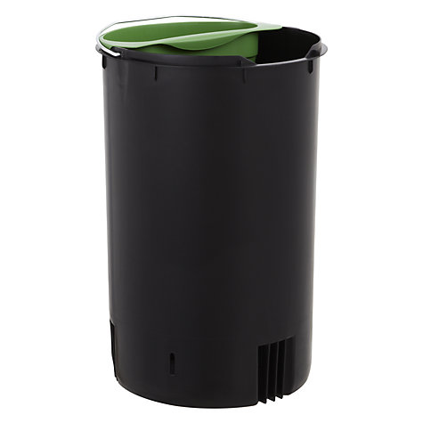 Buy Brabantia Pedal Bin with Food Trap, Almond, 20L Online at johnlewis.com