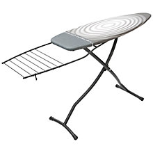 Buy Brabantia Titan Oval Ironing Board with Linen Rack, L135 x W45cm Online at johnlewis.com