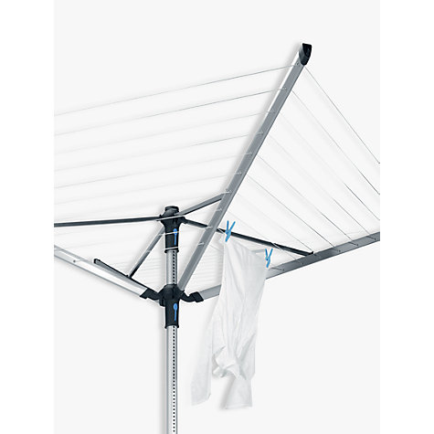 Buy Brabantia Lift-O-Matic Advance Rotary Airer with Ground Tube, Cover and Peg Bag, 50m Online at johnlewis.com