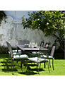 John Lewis Henley by Kettler Outdoor Extending Dining Set with 6 Chairs and 2 Armchairs, Steel