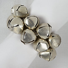 Buy John Lewis Bells Napkin Rings, Set of 4 Online at johnlewis.com