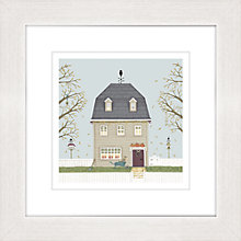 Buy Sally Swannell - Autumn Barn Framed Print, 37 x 37cm Online at johnlewis.com