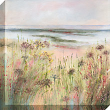 Buy Sue Fenlon - Coastal Pathway Print on Canvas, 40 x 40cm Online at johnlewis.com