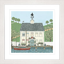 Buy Sally Swannell - Captain House Framed Print, 57 x 57cm Online at johnlewis.com