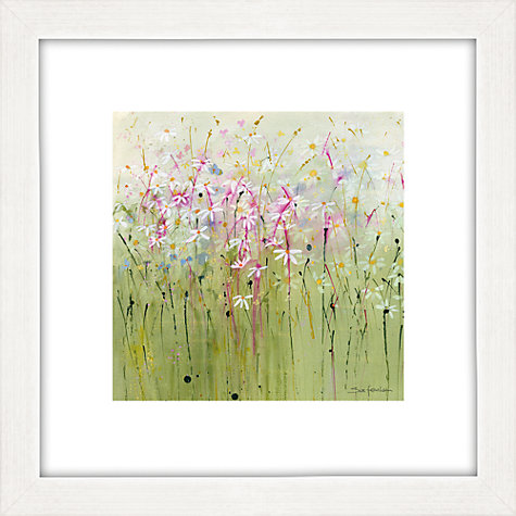 Buy Sue Fenlon - Daisy Meadow Framed Print, 35 x 35cm Online at johnlewis.com