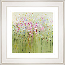 Buy Sue Fenlon - Daisy Meadow Framed Print, 68 x 68cm Online at johnlewis.com