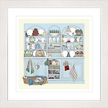 Buy Sally Swannell - Dresser Framed Print, 57 x 57cm Online at johnlewis.com