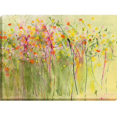 Buy Sue Fenlon - Flowershow Canvas, 70 x 100cm Online at johnlewis.com