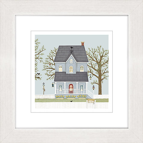 Buy Sally Swannell - Hebe House Framed Print, 37 x 37cm Online at johnlewis.com