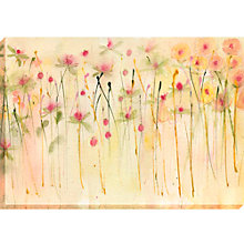 Buy Sue Fenlon - Honeysuckle Hedgerow Canvas, 70 x 100cm Online at johnlewis.com