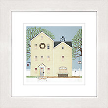 Buy Sally Swannell - Linnet House Framed Print, 37 x 37cm Online at johnlewis.com