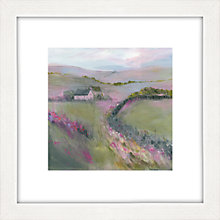 Buy Sue Fenlon - Moorland Cottages Framed Print, 35 x 35cm Online at johnlewis.com