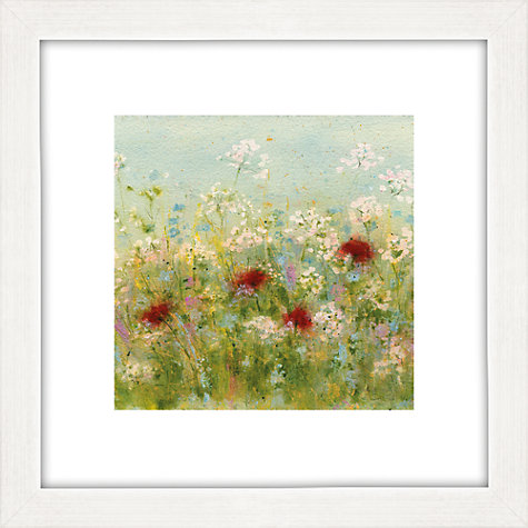 Buy Sue Fenlon - Summer Garden Framed Print, 35 x 35cm Online at johnlewis.com