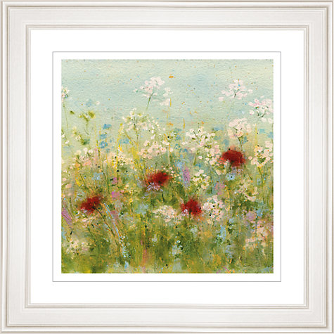 Buy Sue Fenlon - Summer Garden Framed Print, 83 x 83cm Online at johnlewis.com
